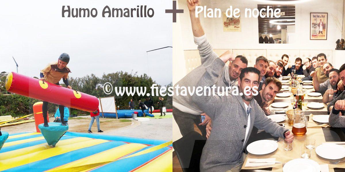 Pack Humor Amarillo + Restaurante + Ruta de locales Sitges