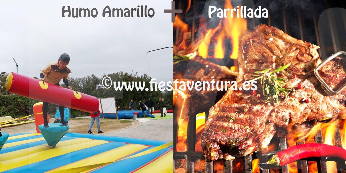 Pack Humor Amarillo + Parrillada